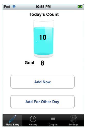 Quelques applications pour Iphone sur le thème de l'eau