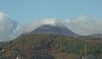 Premieres neiges de l'année visibles sur le Puy de Dôme