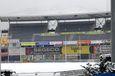 Le Parc des Sports Marcel Michelin et la neige
