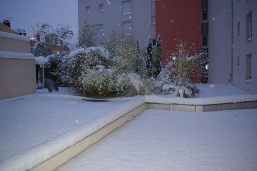 Illustrations de l'offensive neigeuse du 11 février 2010