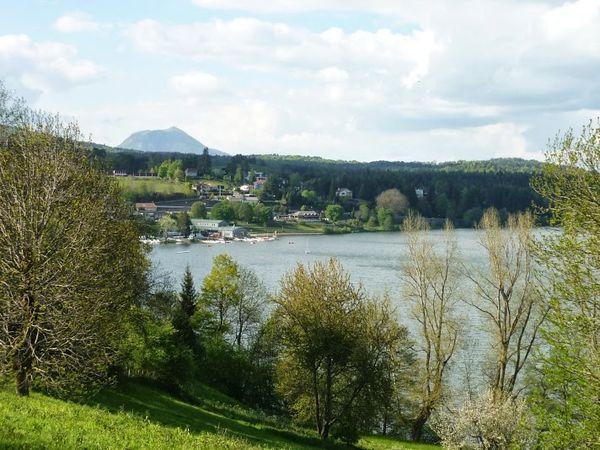 Le lac d'Aydat : petit paradis des Clermontois