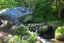 Une vipère géante aux sources de la Dordogne