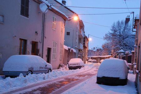 Quelques photos de la neige à Gannat par JB 03