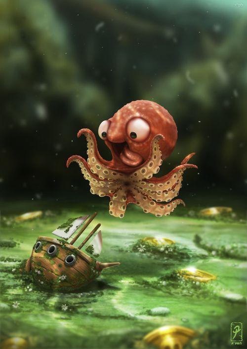 Bébé Kraken?