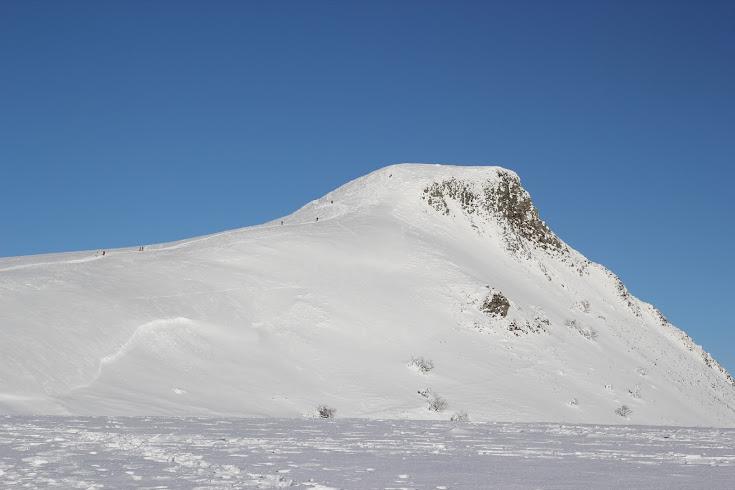 La Banne d'Ordanche en hiver