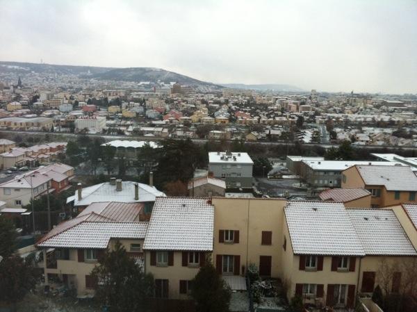 Énième retour de la neige cet hiver