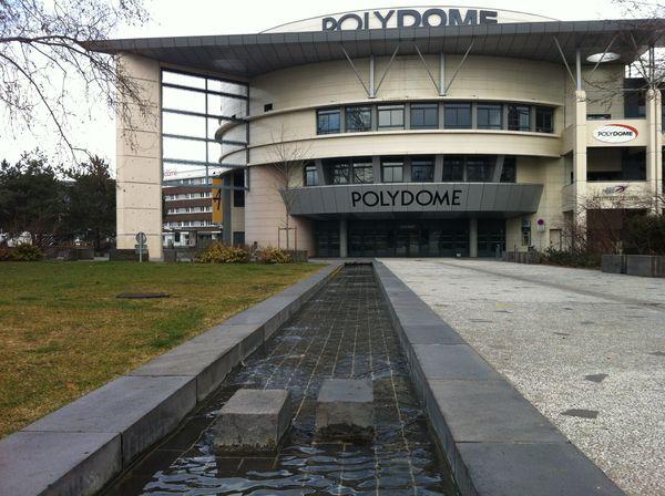 L'eau de la place du 1er mai à Clermont-Ferrand