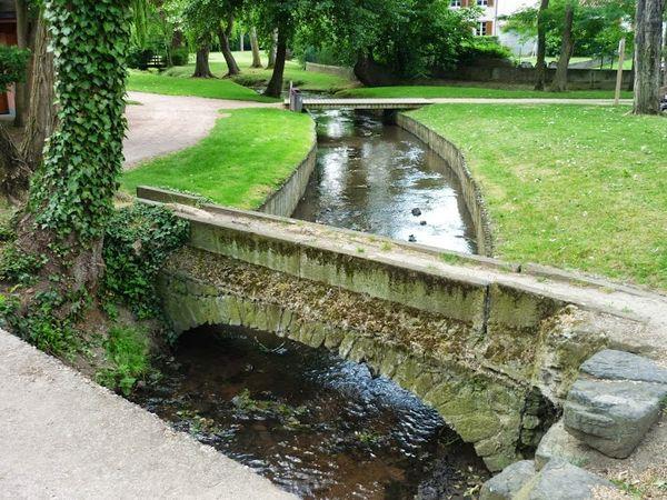Le Bédat dans le parc Pierre-Montgroux à Cébazat