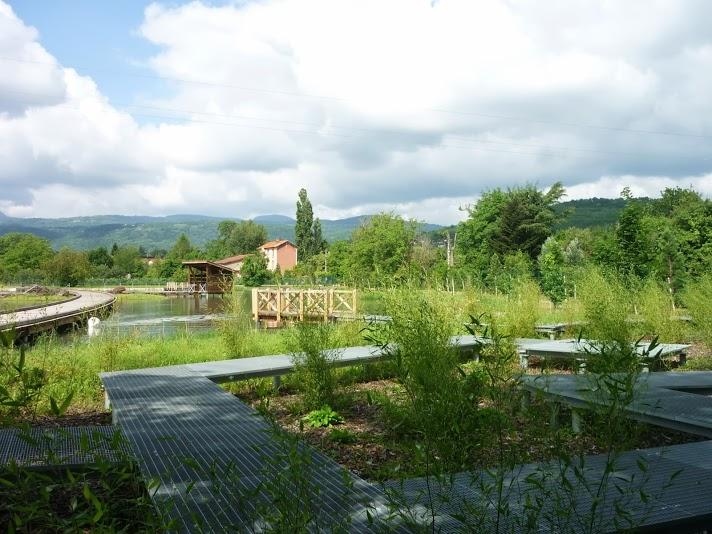 Quelques photos de l'extension du parc Pierre-Montgroux à Cébazat
