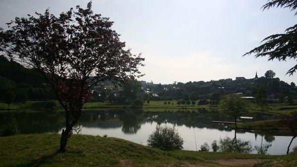 Le plan d'eau de la Tour d'Auvergne