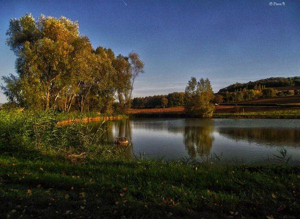 L'étang de Chas