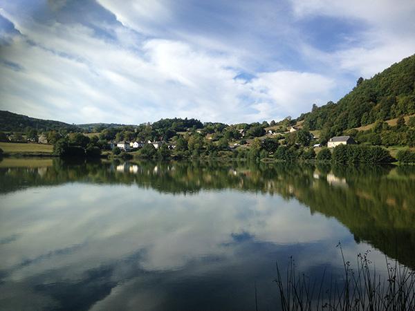 Le lac de Menet