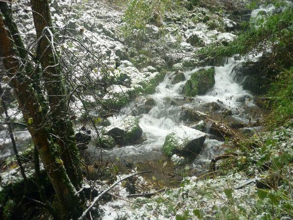 Quelques images de la neige sur les hauteurs de Clermont