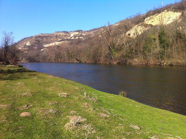 Les rives de l'Allier en amont des Martres-de-Veyre
