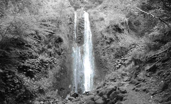 La cascade de la Pérouse
