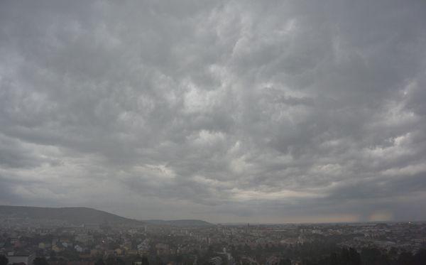 Aperçu de l'orage clermontois du 8 septembre 2014