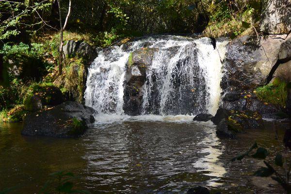 La cascade de Veyreras