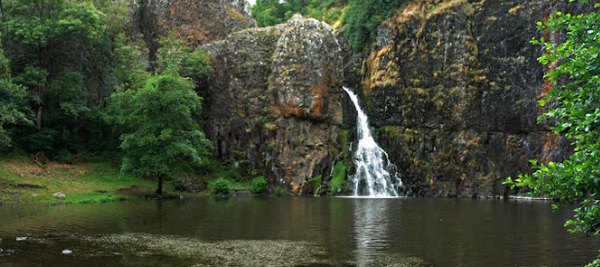 La cascade de Babory