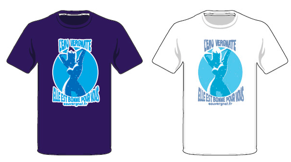 Des T-shirts pour le financement du livre sur le Bédat