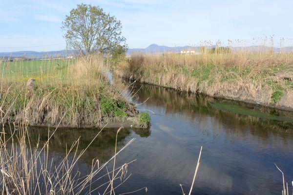 La confluence entre le Bec et l'Artière