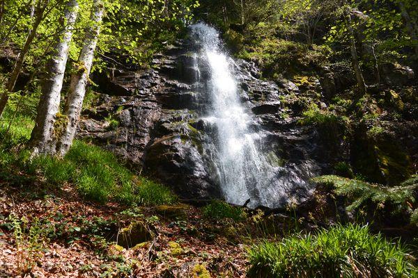 Les cascades de la Volpie