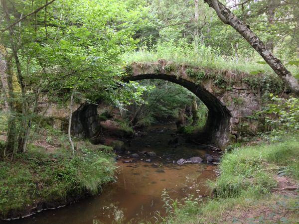 Le pont dit romain de Droiturier